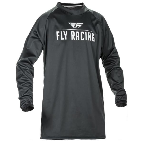Fly Racing Windproof Jersey Black