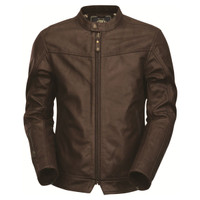 Roland Sands Design Walker Brown Leather Jacket Brown