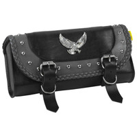 Willie & Max Gray Thunder Series Studded Tool Bag