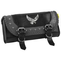 Willie & Max Gray Thunder Series Studded Tool Bag