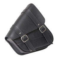 Willie & Max Revolution Universal Dual Swingarm Saddlebags Black