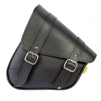 Willie & Max Revolution Universal Hidden Swingarm Saddlebags Black