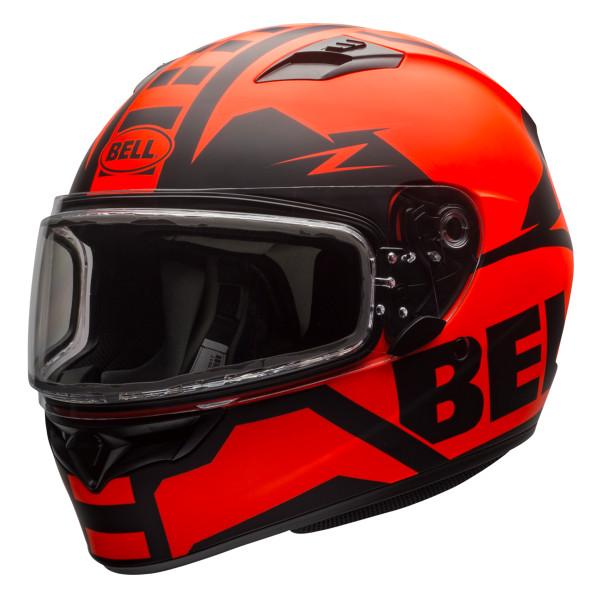 Bell Qualifier Momentum Snow Helmet Electric Shield Orange