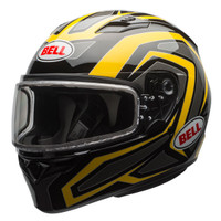 Bell Qualifier Machine Snow Helmet with Dual Shield Yellow