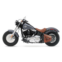 Viking Dellingr Brown Softail Motorcycle Solo Bag 1