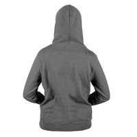 Speed And Strength Comin In Hot Women's Hoody Back View