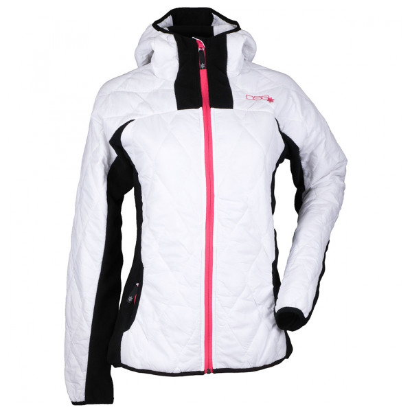 Divas Snow Gear Women's Fleece Jacket White