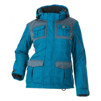 Divas Snow Gear Women's Arctic Appeal Jacket Blue