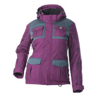 Divas Snow Gear Women's Arctic Appeal Jacket Purple