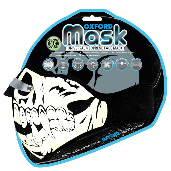 Oxford Glow Skull Face Mask