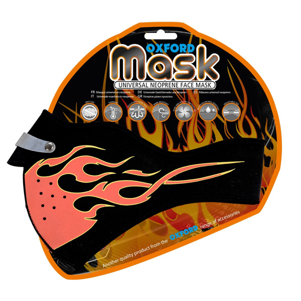 Oxford Flame Face Mask