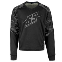 Speed And Strength Critical Mass Reinforced Moto Shirt  Urban Camo View