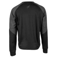 Speed And Strength Critical Mass Reinforced Moto Shirt Black Back View
