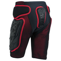 Alpinestars Bionic Freeride Shorts Protective Gear Back View