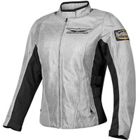 Honda Collection Gold Wing Mesh Touring Womens Jacket Gray