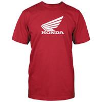 Honda Corporate Big Wing Tee Red