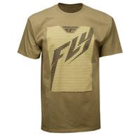 Fly Racing Shaded Tee Brown