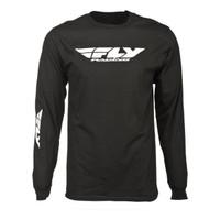Fly Racing Corporate Long Sleeve Tee Black