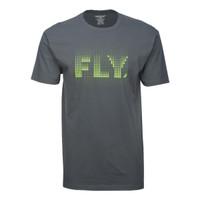 Fly Racing Trace Tee Gray
