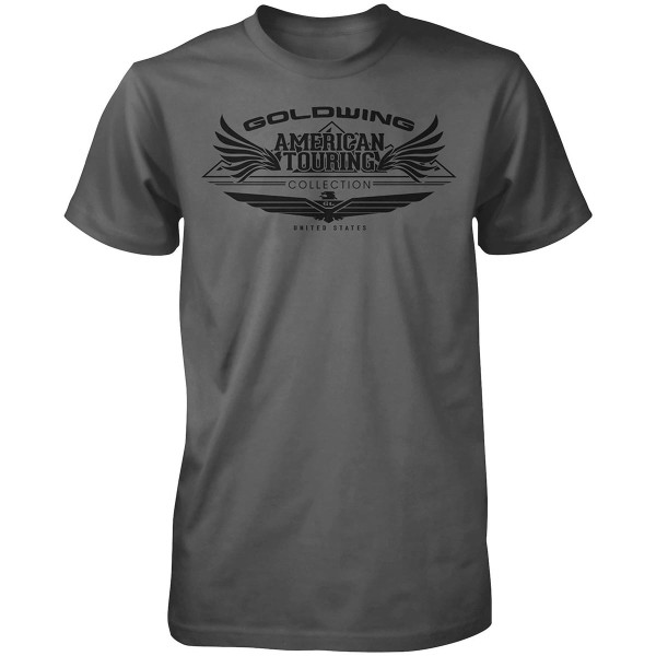 Honda Gold Wing Tour Collection Tee Gray