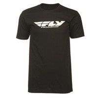 Fly Racing Corporate Tee Black