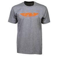 Fly Racing Corporate Tee Gray