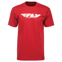 Fly Racing Corporate Tee Red