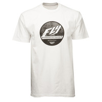 Fly Racing Clique Tee White