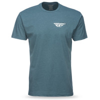 Fly Racing Choice Tee Gray
