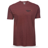 Fly Racing Choice Tee Red