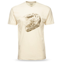 Fly Racing Head Case Tee White