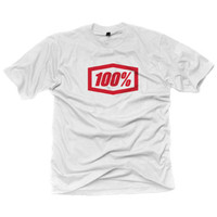 100% Essential Tee White