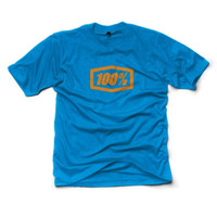 100% Essential Tee Blue