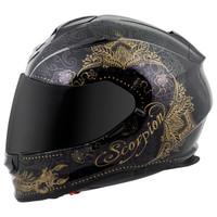 Scorpion EXO-T510 Azalea Helmet Black Side View