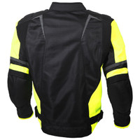 Scorpion Influx Jacket Hi-Viz View