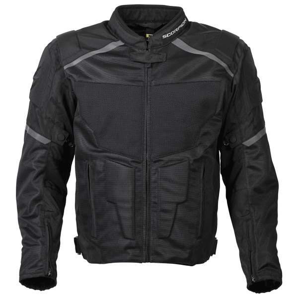 Scorpion Influx Jacket Black View