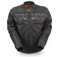First Classics Men's Savage Skulls Jacket