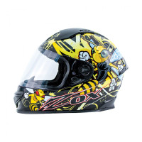 Zox Primo Junior Full Face Helmet Yellow View