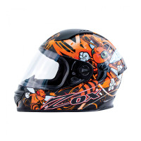 Zox Primo Junior Full Face Helmet Orange View