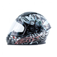 Zox Primo Junior Full Face Helmet Silver View