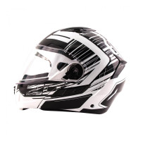 Zox Condor Svs Vision Full Face Helmet White Side View
