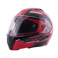 Zox Condor Svs Vision Full Face Helmet Red Main View