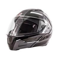 Zox Condor Svs Vision Full Face Helmet Dark Silver View