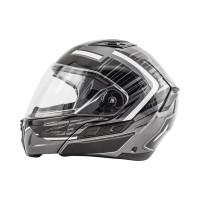Zox Condor Svs Vision Full Face Helmet Helmet Dark Side View