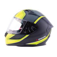 Zox Z-FF50 Momentum Full Face Helmet Matte Hi-Viz Yellow