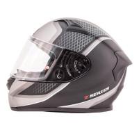 Zox Z-FF50 Momentum Full Face Helmet Matte Dark Silver