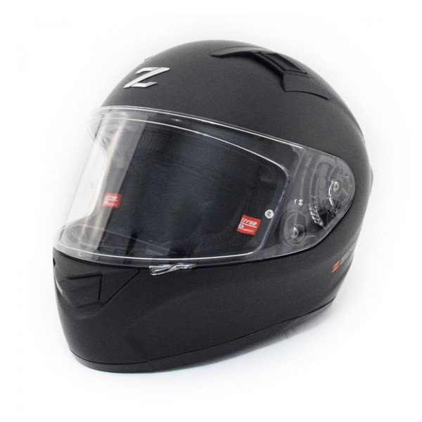 Zox Z-FF50 Solid Full Face Helmet Matte Black Main View