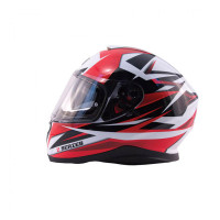 Zox Z-FF10 Svs Full Face Helmet Red Side View