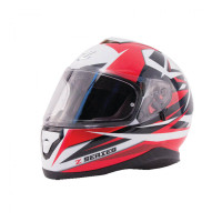 Zox Z-FF10 Svs Full Face Helmet Red Main View