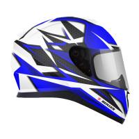 Zox Z-FF10 Svs Full Face Helmet Blue Cut View